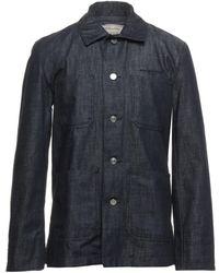 Maison Kitsuné Capospalla jeans - Blu