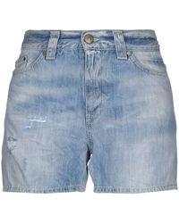 Dondup Short en jean - Bleu