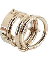 Valentino Ring - Metallic