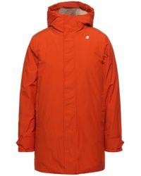 K-Way Coat - Orange