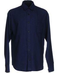 The Elder Statesman Shirt - Blue