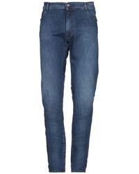 Brooksfield Denim Trousers - Blue