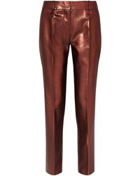 Victoria, Victoria Beckham Casual Trouser - Red