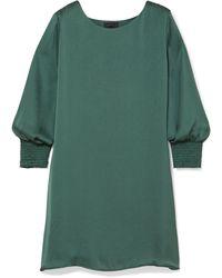 HATCH Short Dress - Green