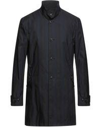 John Varvatos Overcoat - Blue