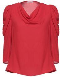 NUALY Blusa - Rosso