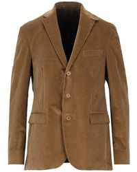 Barbour Suit Jacket - Natural