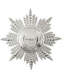 Off-White c/o Virgil Abloh Brooch - Metallic