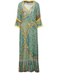 Miss Bikini Luxe Beach Dress - Green