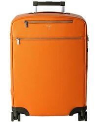Serapian Wheeled Luggage - Orange
