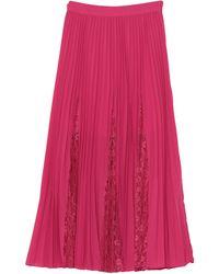 Guess Midi Skirt - Pink