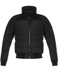Band of Outsiders Synthetic Down Jacket - Blue