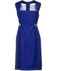 Nicole Miller Artelier - Knee-length Dress - Lyst