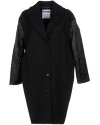 Moschino Overcoat - Black