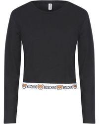 Moschino T-shirt intima - Nero