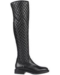 Loretta Pettinari Knee Boots - Black