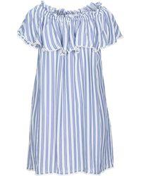 Au Soleil De Saint Tropez Short Dress - Blue