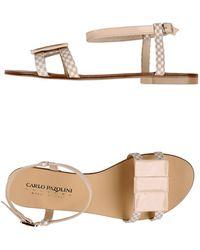 Carlo Pazolini Sandals - Natural