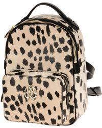 Roberto Cavalli Backpacks & Fanny Packs - White
