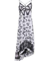 Ainea 3/4 Length Dress - White