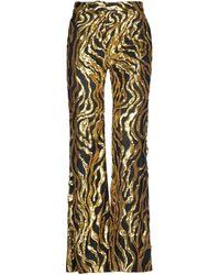 Halpern Casual Trousers - Yellow