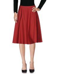 I Blues - Knee Length Skirts - Lyst