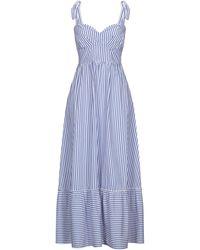 ACTUALEE Long Dress - Blue