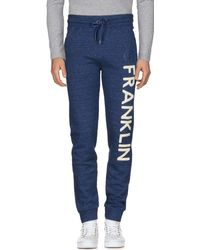 Franklin & Marshall Casual Trouser - Blue