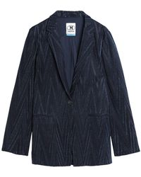 M Missoni Suit Jacket - Blue