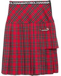 Marco Bologna Midi Skirt - Red