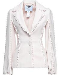 Blumarine Suit Jacket - White