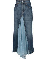 Givenchy Denim Skirt - Blue