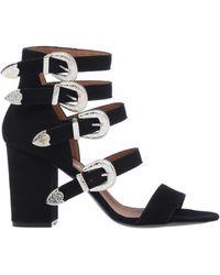 Via Roma 15 Sandals - Black