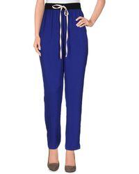 INTROPIA Trouser - Blue