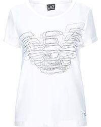 EA7 T-shirts - Weiß
