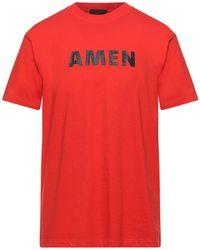 Amen Camiseta - Naranja