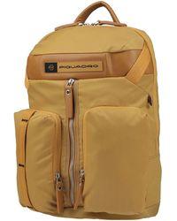 Piquadro Backpack - Yellow