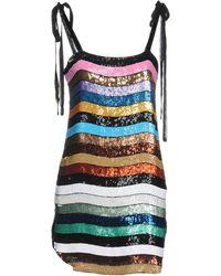Attico - Short Dress - Lyst