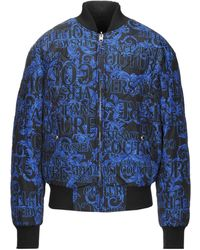 Versace Jeans Couture Synthetic Down Jacket - Black