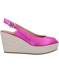 A.Testoni Sandals - Purple