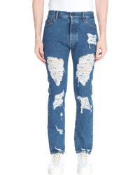 Palm Angels Pantalones vaqueros - Azul