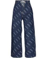 Roy Rogers Denim Trousers - Blue
