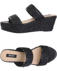 c3286ecf7c75 Dkny Sandals in White - Lyst