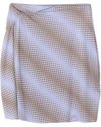 Maisie Wilen Mini Skirt - Purple