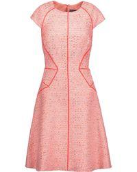 Lela Rose Kurzes Kleid - Pink