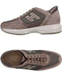 Hogan Low Sneakers & Tennisschuhe - Grau