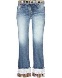 Alanui Pantalon en jean - Bleu