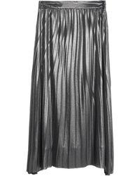 CafeNoir Midi Skirt - Grey