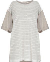 Junya Watanabe Camiseta - Blanco