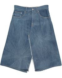 MM6 by Maison Martin Margiela Denim Skirt - Blue